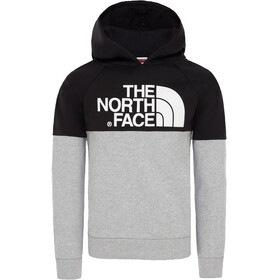 The North Face Drew Peak Raglan Midlayer Kinderen grijs/zwart